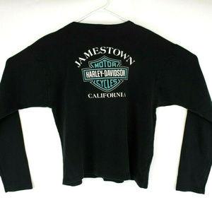 Harley Davidson Womens ong Sleeve Graphic T-Shirt
